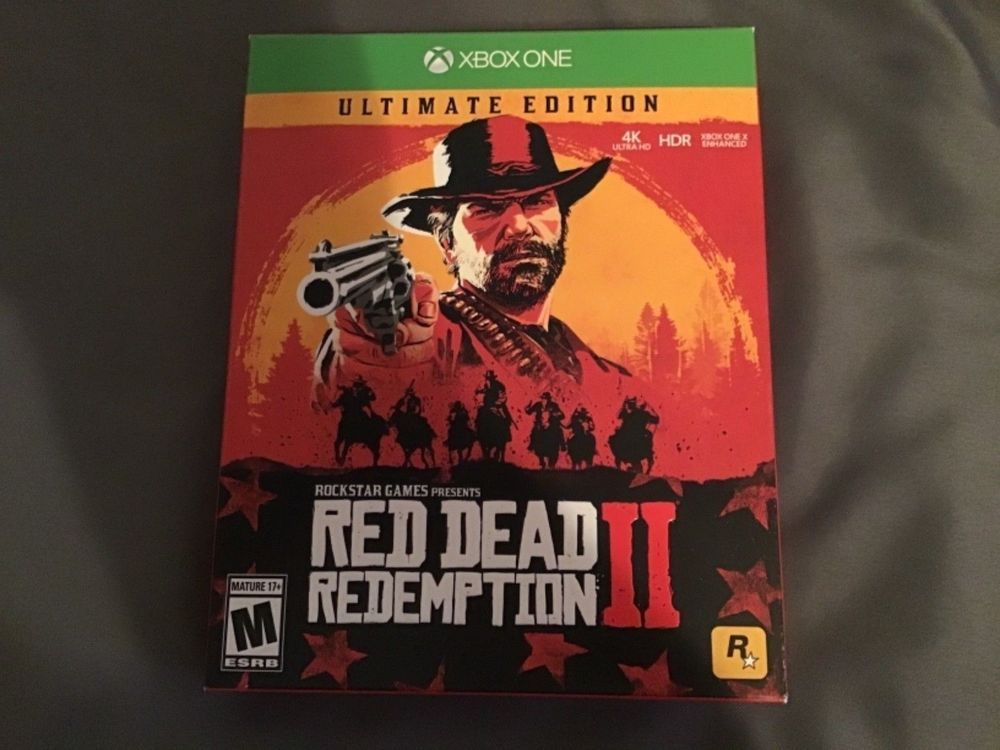 Red Dead Redemption 2 Ultimate Edition Steelbook Package Xbox One New Reddeadredemption Gaming Xboxone Red Dead Redemption Game Sales Xbox One