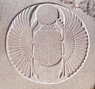Escaravelho Egípicio