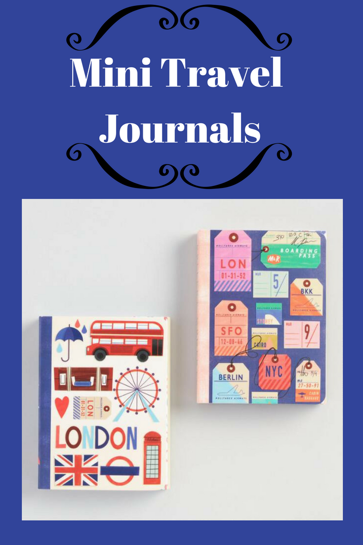 Love These Min Travel Journals. Record Your Thoughts And
