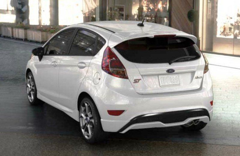 2014 2015 Ford Fiesta St Pictures Photos Wallpapers And Video