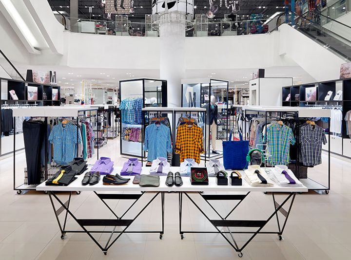Mensfloor redesign at Paragon Department Store by HMKM, Bangkok – Thailand