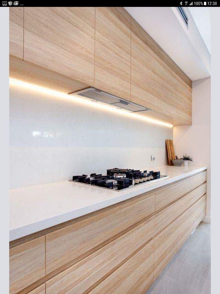 Image par kathy kk sur aran acje cuisine bois moderne - Refaire sa cuisine rustique en moderne ...