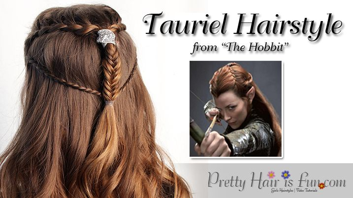 Pretty Hair Is Fun Tauriel Inspired Hairstyle From The Hobbit Pretty Hairstyles Fairytale Hair Hair Styles