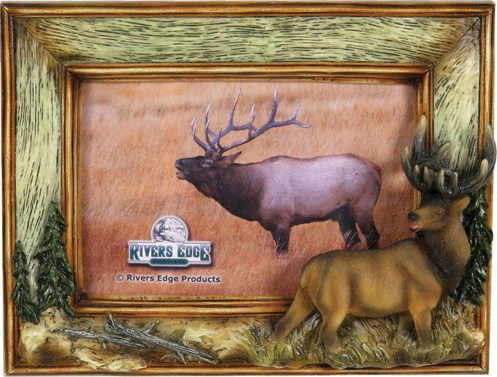 hunting frames elk picture frame