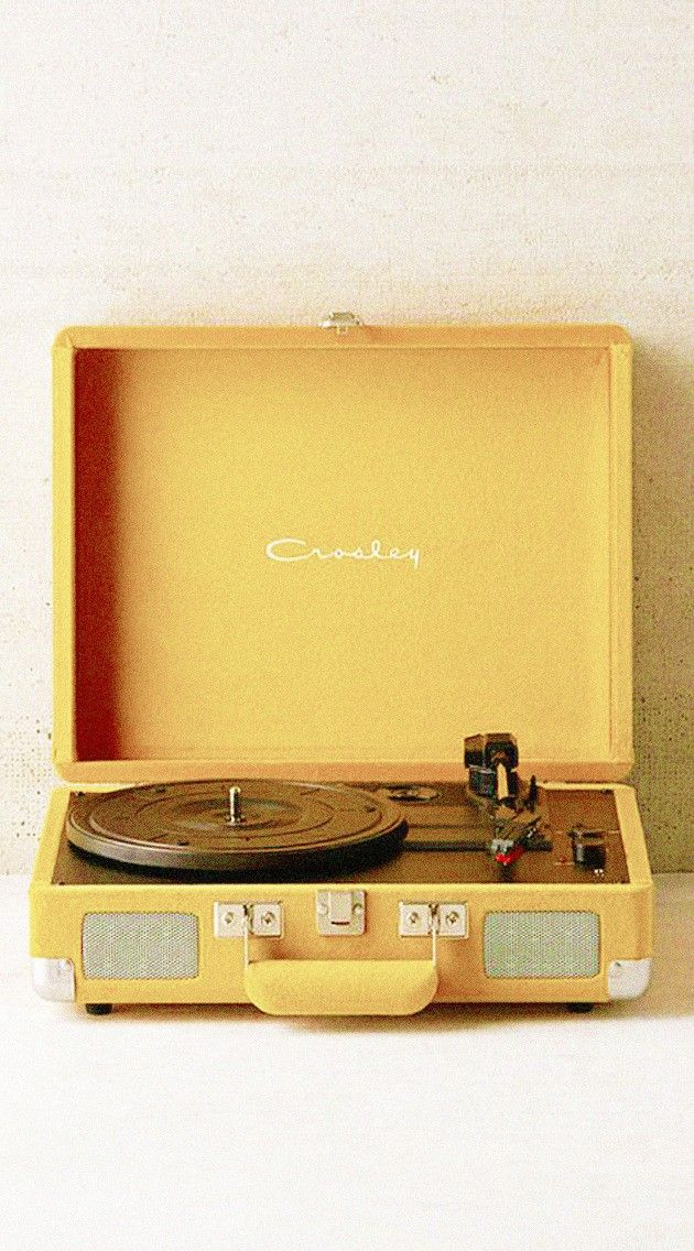 yellow + record player | Photography | Pastel yellow ...