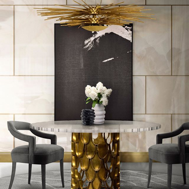 Extraordinary Dining Room For You  Feel The Wilderness Straight Enchanting Trends In Dining Rooms Decorating Design