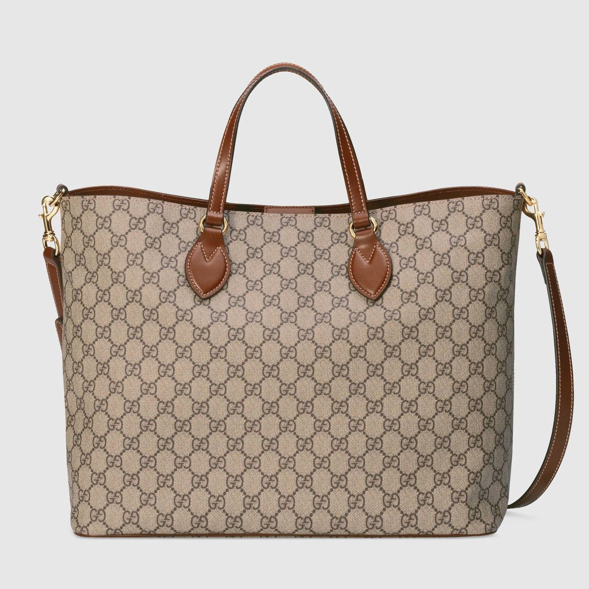 GUCCI Gg Supreme Tote - Soft Gg Supreme.  gucci  bags  canvas  tote  lining   shoulder bags  suede  hand bags   864f4b765951