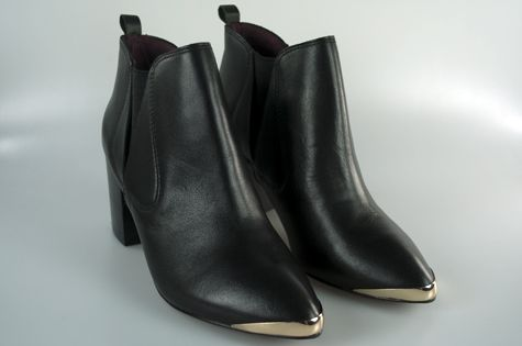 Toby Black ankle boot