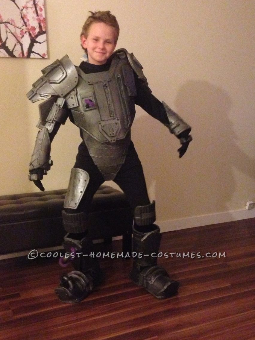 Cyborg Halloween Costume for 11 Year Old Boy | Костюмы на хэллоуин ...