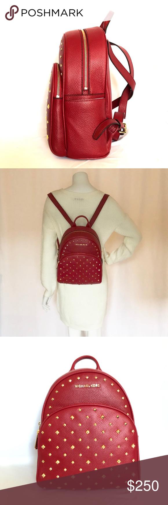 Michael Kors Abbey Studded Medium Backpack ❌PRICE FIRM❌ NO OFFERS MICHAEL  KORS Abbey Medium d6da1b674a790