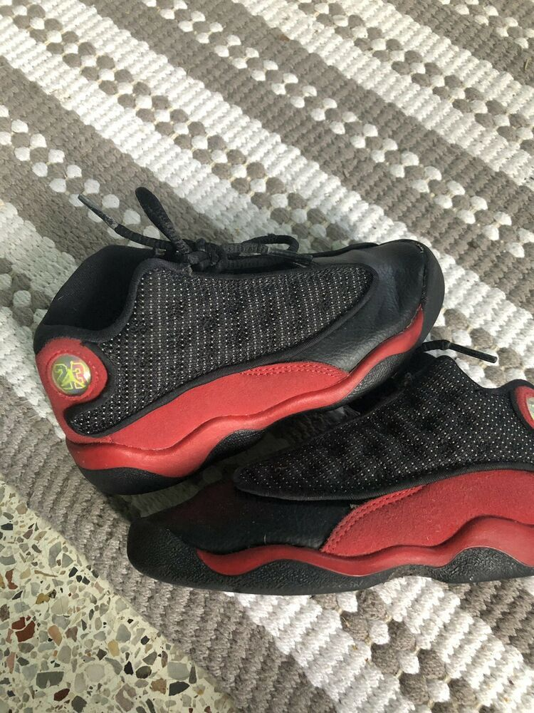 half off e357a 8933c Advertisement(eBay) Baby Toddler Air Jordan 13s Retro Red ...
