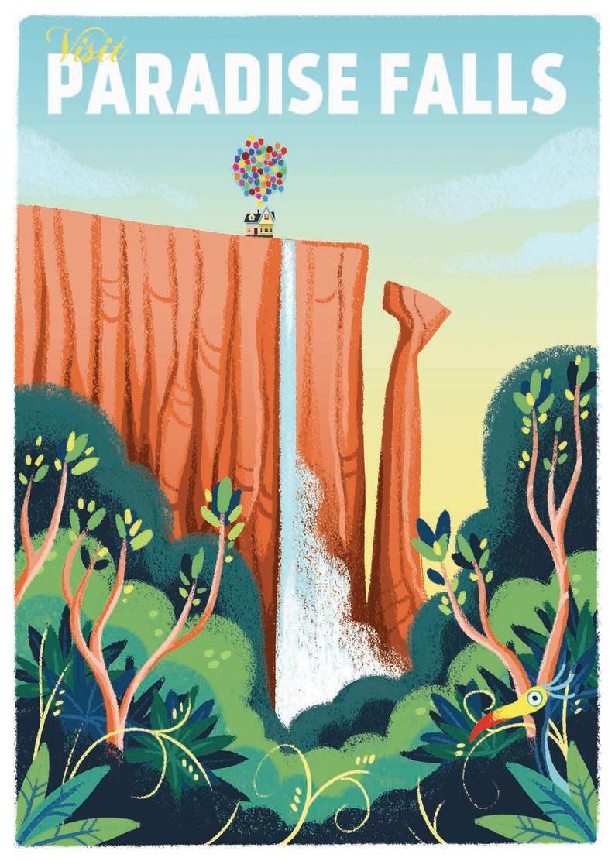 Paradise Falls -