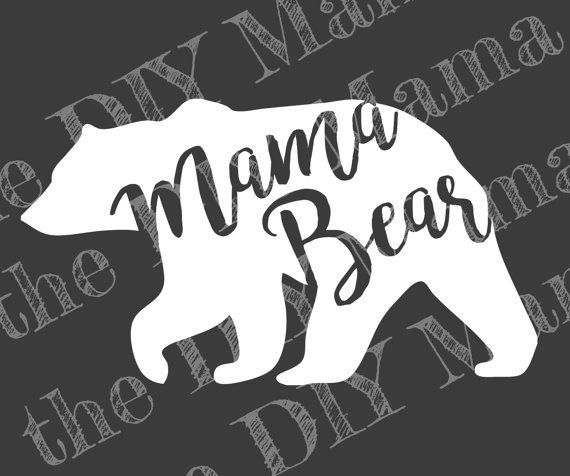 Mama Bear Decals Use Them Inside Or Outside When