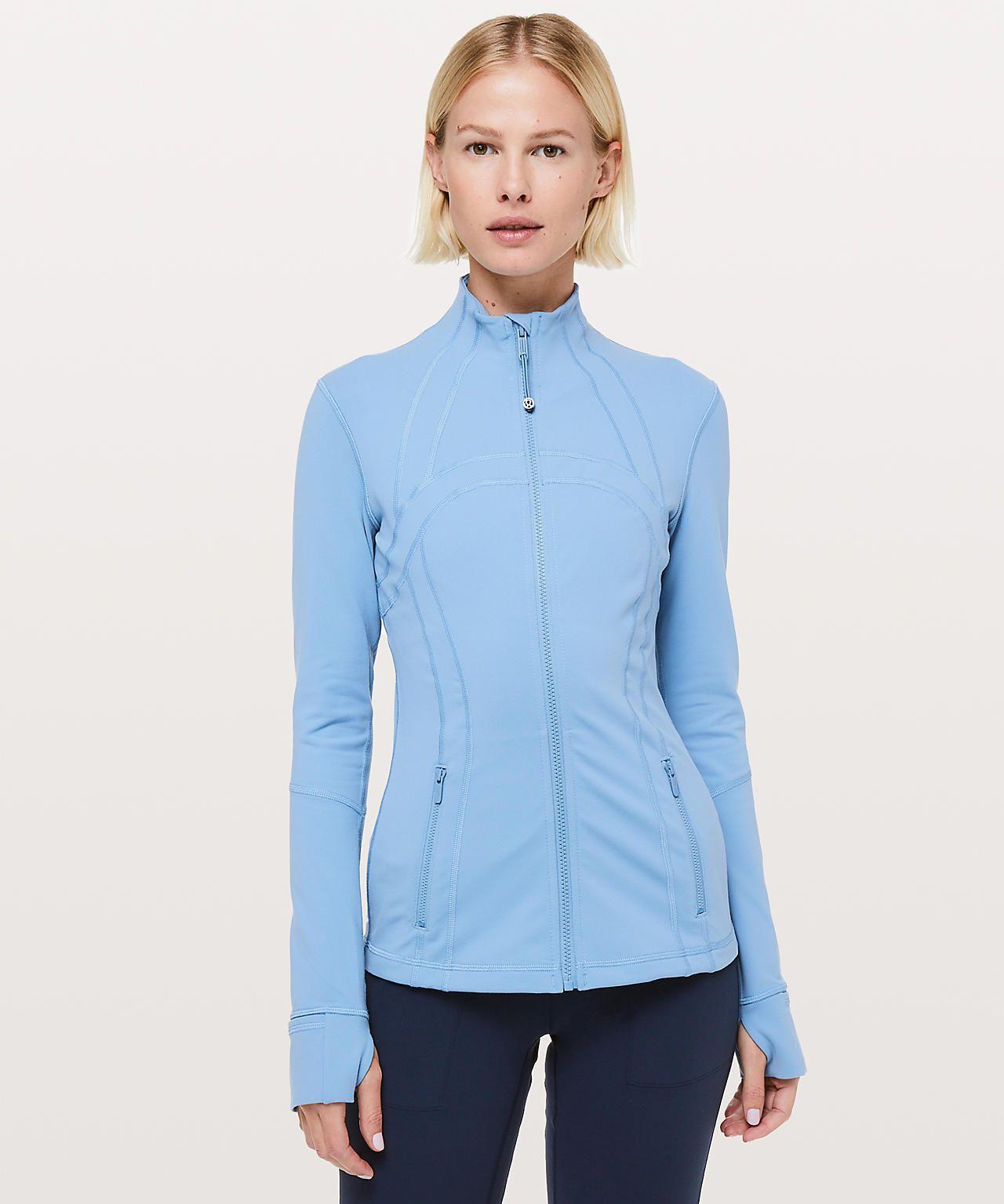 Cascade blue jackets for women lululemon define jacket