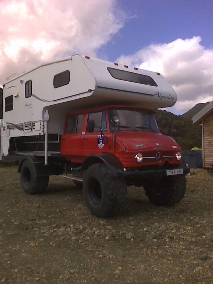 Mercedes benz unimog 4x4 double cab doka camper rv for Mercedes benz rv camper