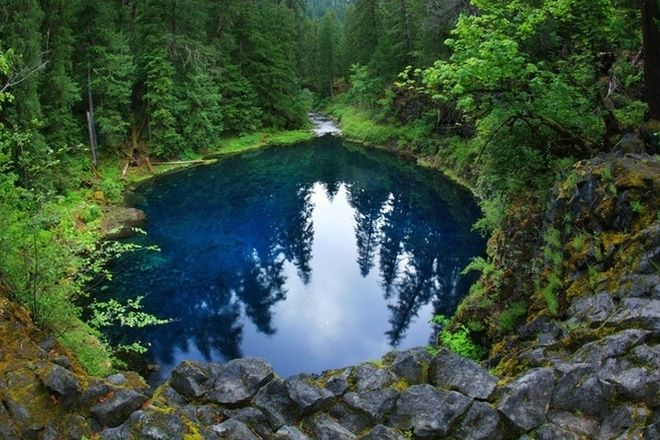 Tamolitch Blue Pool, Oregon Campy Hikey Exploring Fun Thymes