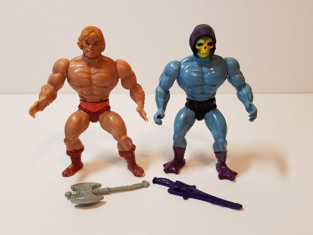 MOTU He-Man Vintage Action Figures 1980/'s