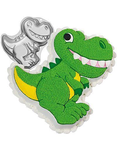 dinosaur cake pan 13in go jurassic with our dinosaur cake pan