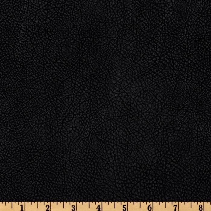 Bijoux Faux Leather Textured Black From Fabricdotcom This