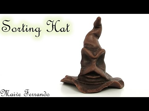Polymer Clay Harry Potter S Sorting Hat Tutorial Maive Ferrando Youtube Harry Potter Sorting Harry Potter Sorting Hat Harry Potter Hat
