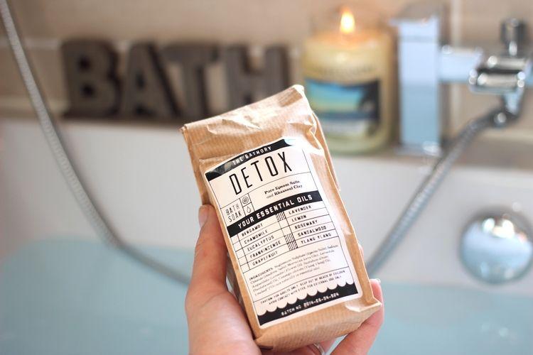 Detox Bath Salts from The Bathory