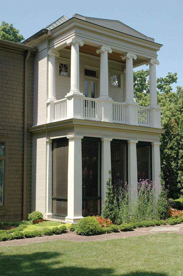 Authentic Replication Columns Greek Erechtheum Capitals Bases Round Tapered Plain Wooden Shafts Square Tap With Images Architectural Columns House Columns House Exterior