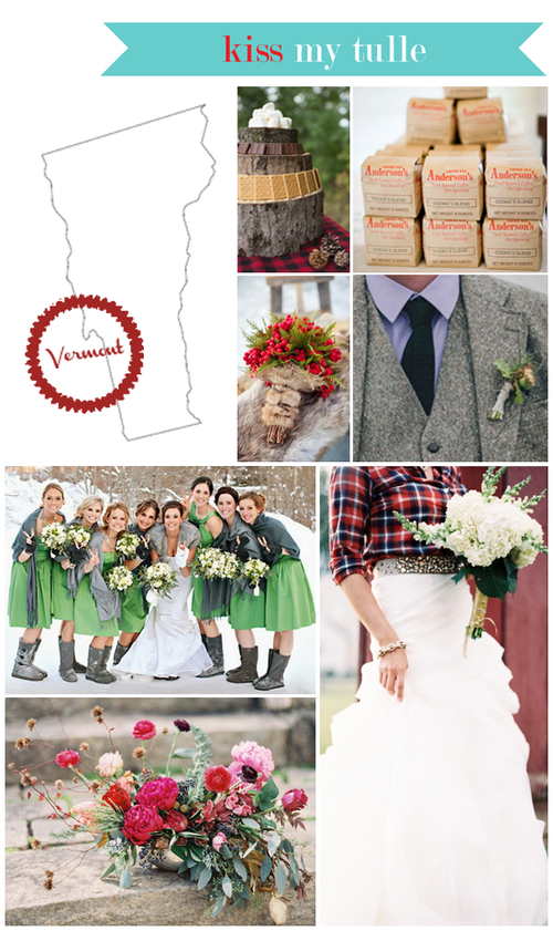 Vermont State Wedding Inspiration