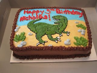 Jessicas Sweet Side TRex Cake Jax Pinterest Cake Birthdays