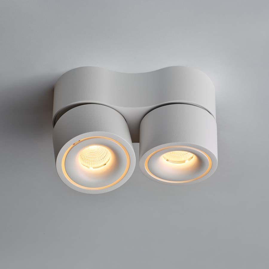 Mini Light Clap Mini Double 2er Spot Weiss In 2020 Led Leuchten Lichtkegel Led