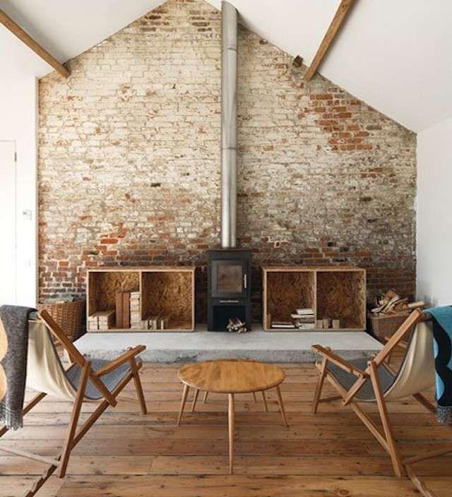 Decorare casa con i mattoni a vista nel 2019 interni for Immagini design casa
