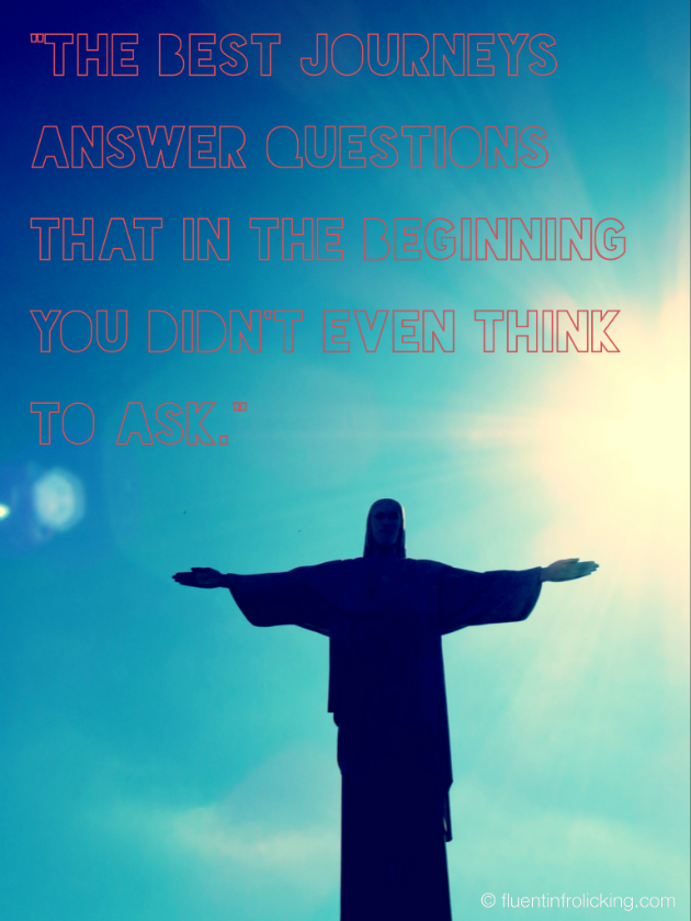 Statue Quotes Custom Rio Christ Statue Brazil Travel Quote  ☆ Fluent In Frolicking