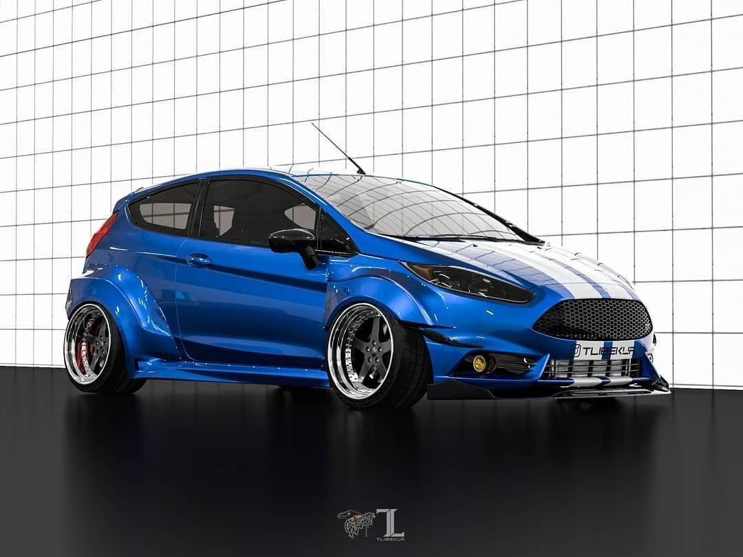 Ford Fiesta Mk7 3dr Wide Body Kit Krotov Pro In 2020 Wide Body Kits Ford Fiesta Body Kit