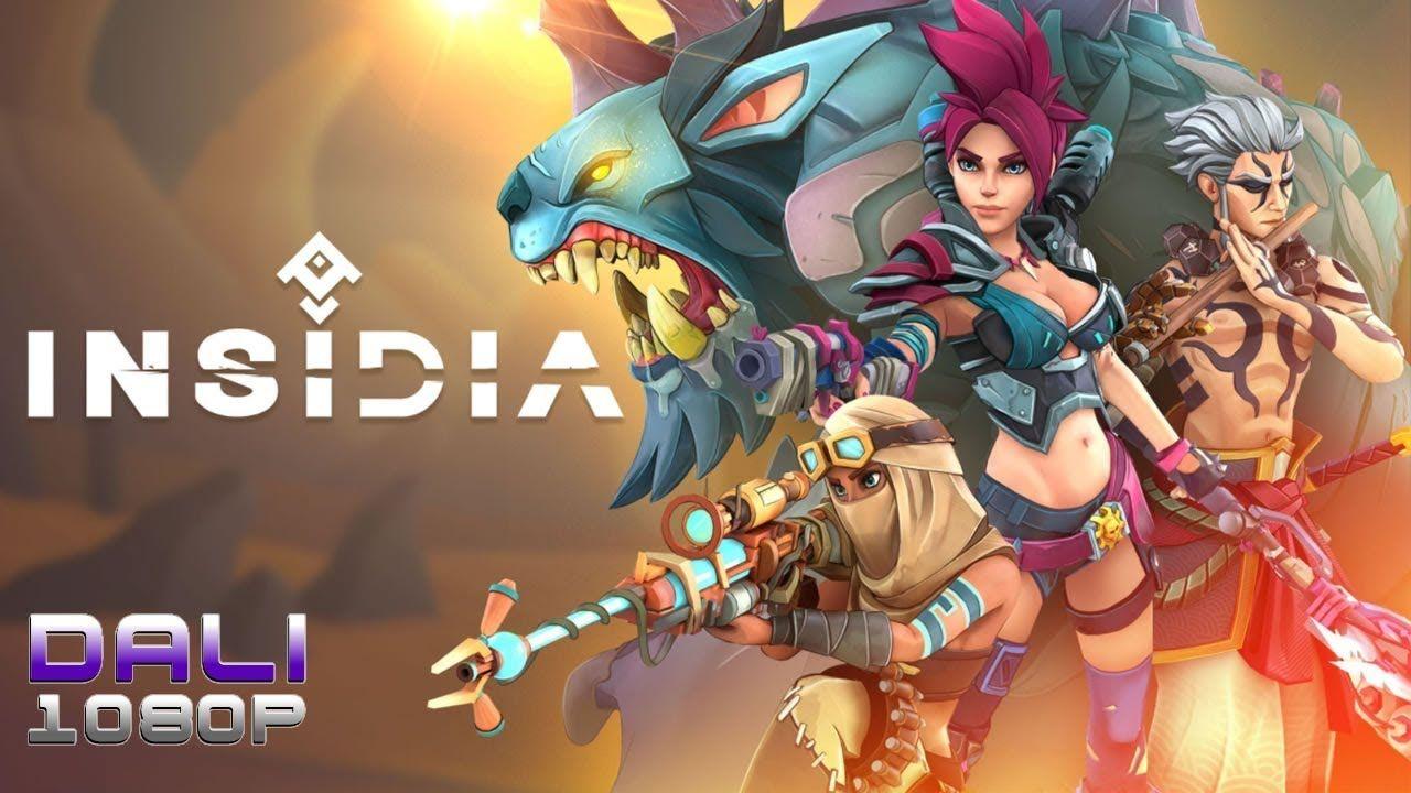 Insidia Tutorial & 1vs1 Online Match PC Gameplay Online