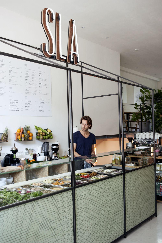 Sla Salad Bar Amsterdam Www Ilovesla Com A Juice