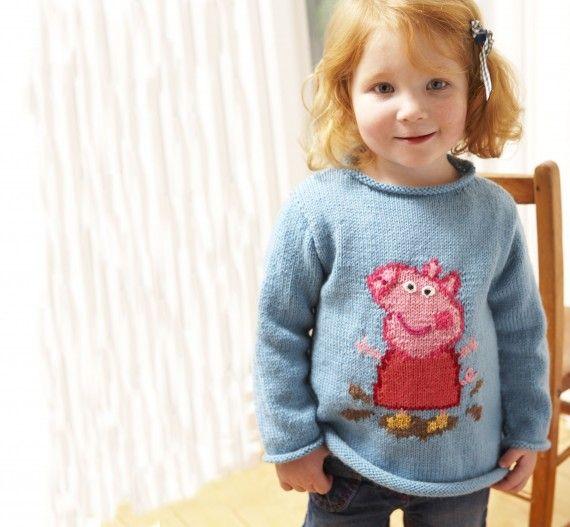 dffcbca8c4f7 Peppa Pig jumper knitting pattern – download it today!