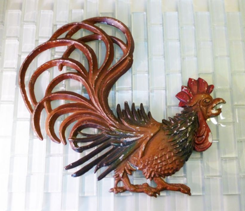 Best Of Metal Rooster Wall Decor Kitchen Wall Decor