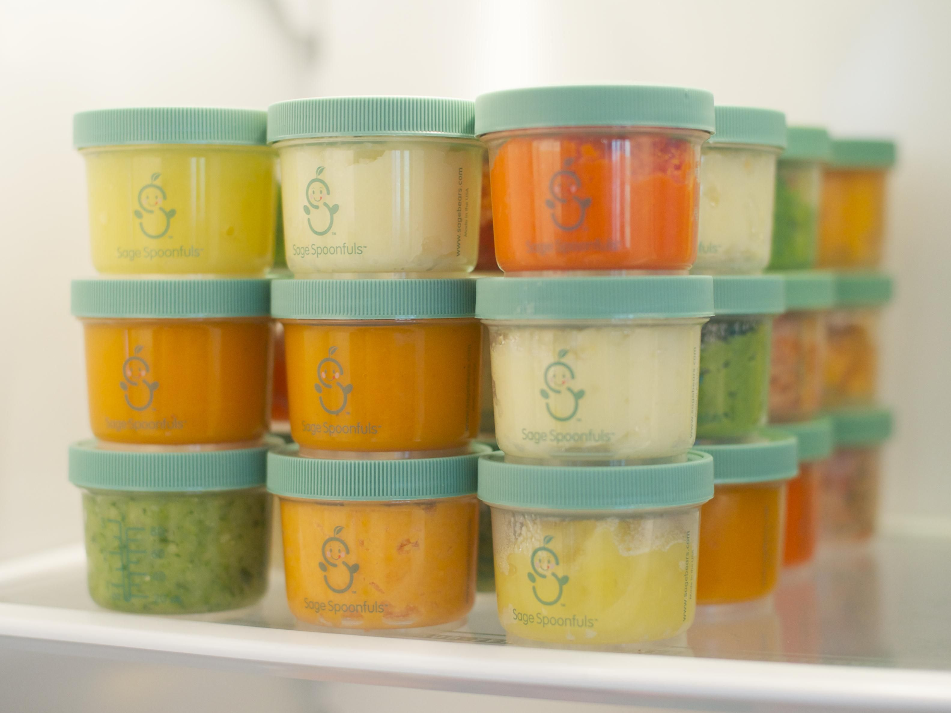 Sage Spoonfuls Shares Homemade Baby Food Recipes For Both And Family