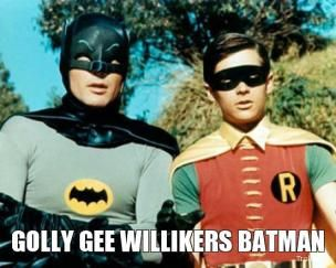 Image result for gee willikers batman