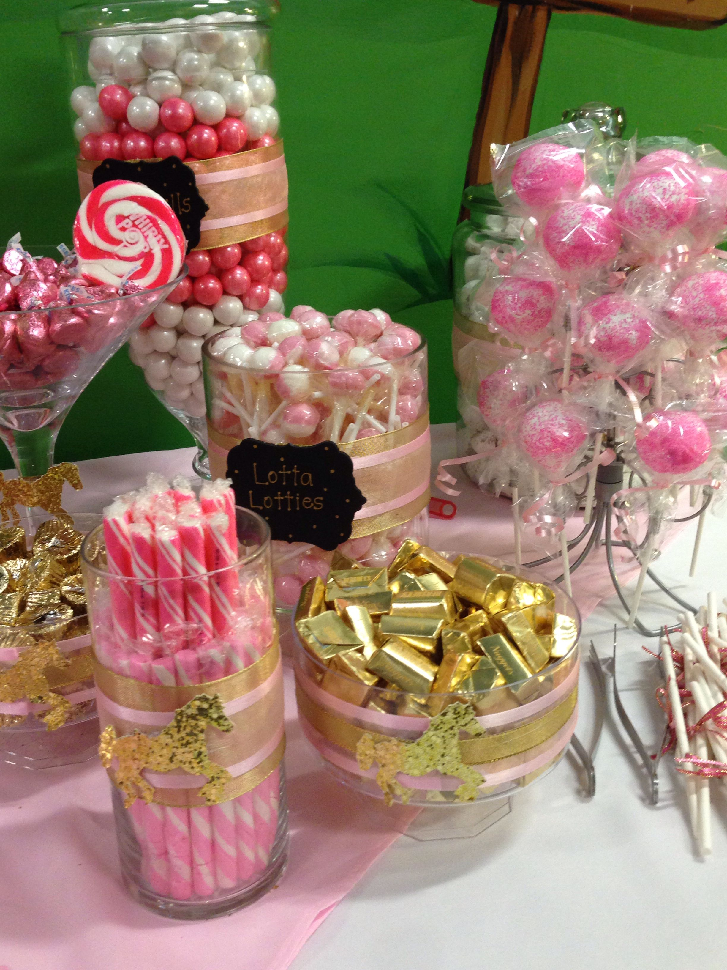 Camila S 1st Birthday Party Candy Buffet By Mercy Candy Birthday Party Candy Buffet Birthday Party Candy Party