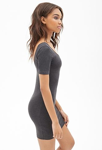 Scoop Back Bodycon Dress | Forever 21 Canada