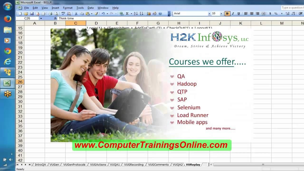 Loadrunner Online Training Day2 | Peformance Testing Training in USA,UK,AUS,Canada