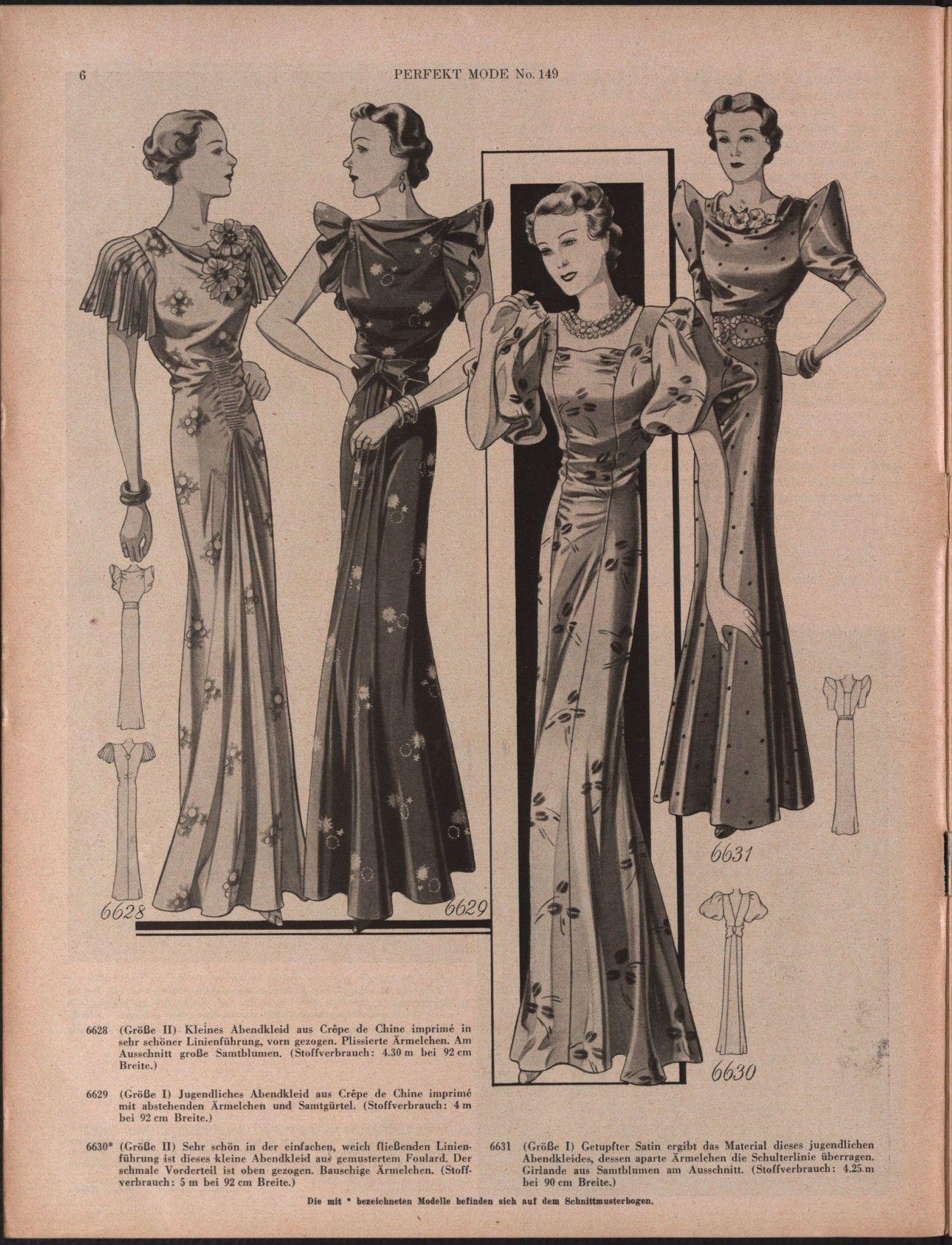 vollanzeige | mode, anno, schnittchen