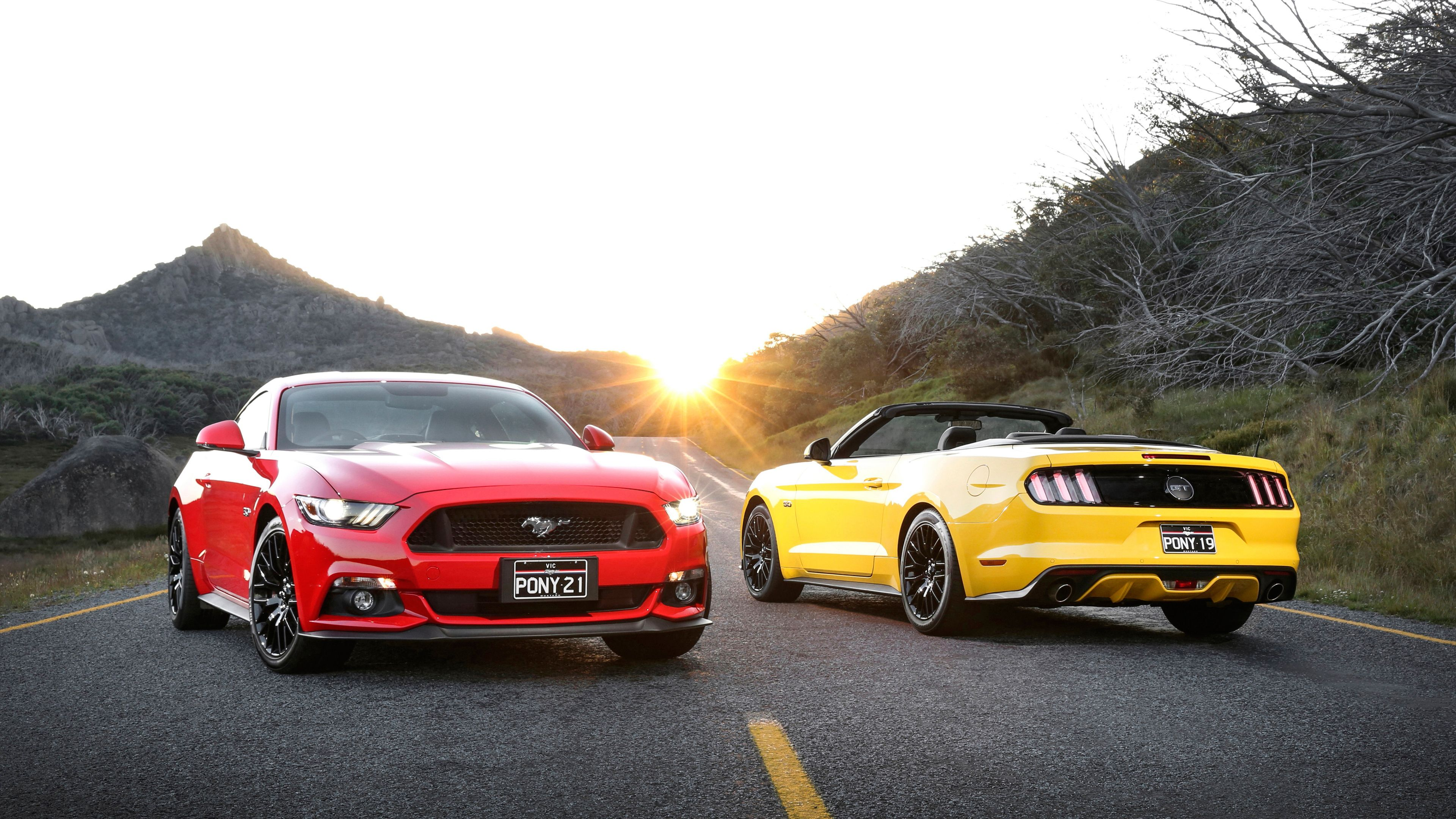 Red And Yellow Ford Mustang Red Wallpapers Mustang Wallpapers Hd Wallpapers Ford Wallpapers Ford Mustang Yellow Mustang Ford Mustang Wallpaper Ford Mustang