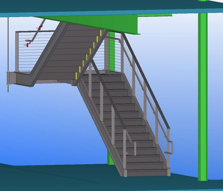 Best Impressive Prefab Metal Stairs 3 Metal Fabricated Stairs 400 x 300