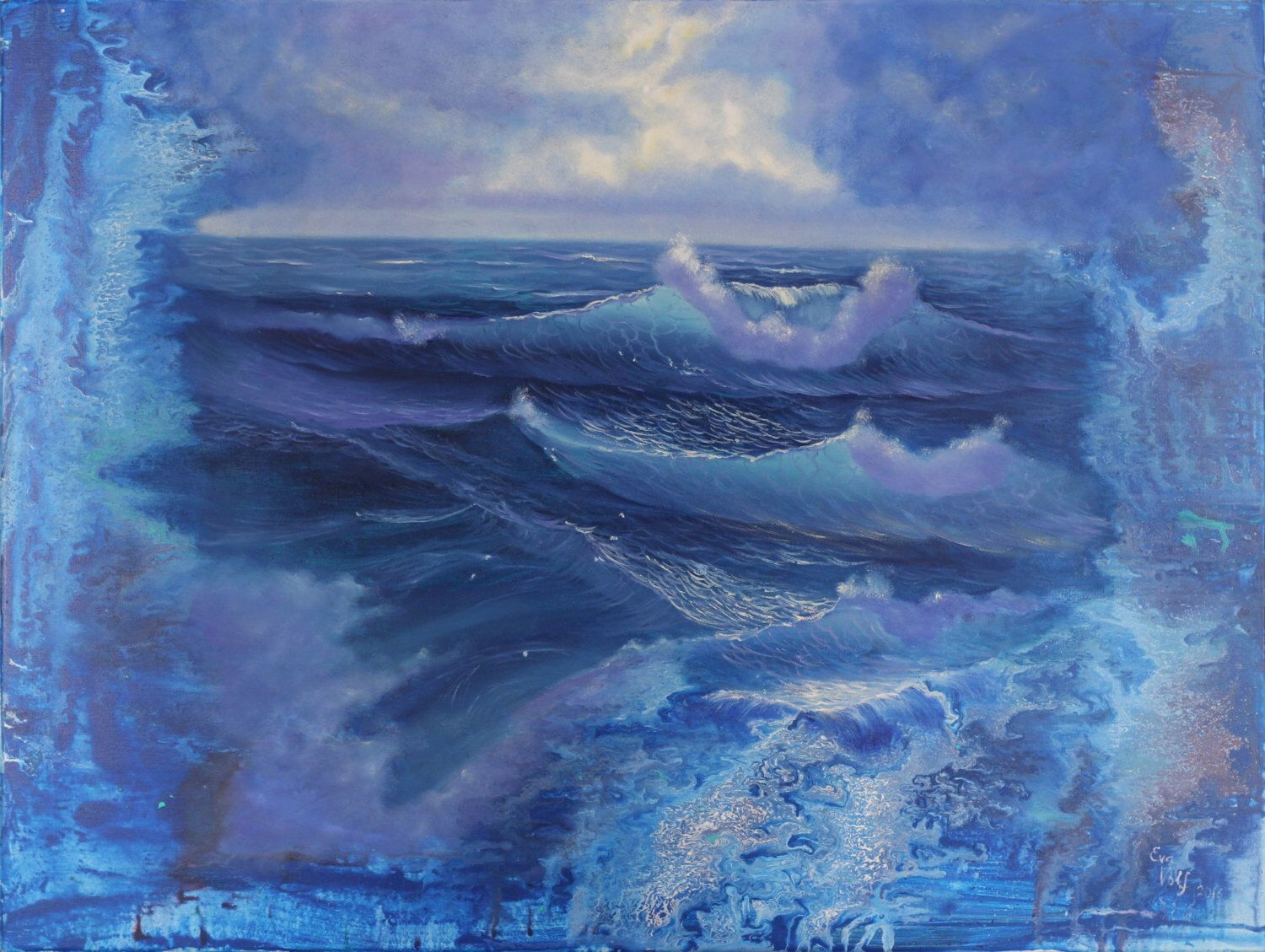 A personal favorite from my Etsy shop https://www.etsy.com/listing/470825233/large-ocean-painting-modern-art-seascape