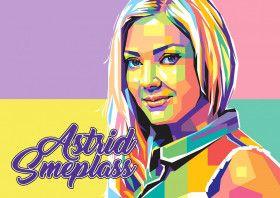 Astrid Smeplass | Displate thumbnail