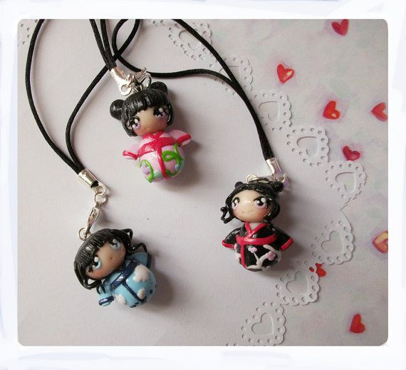 Asian phone charms