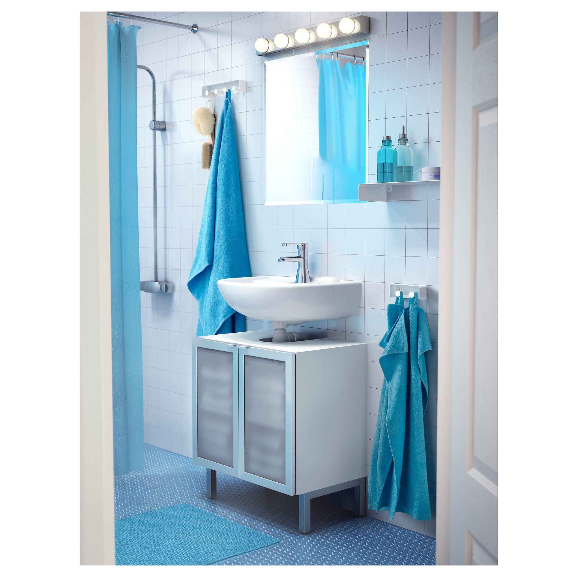 Towel Rack Enudden White In 2019 Products Meuble Salle