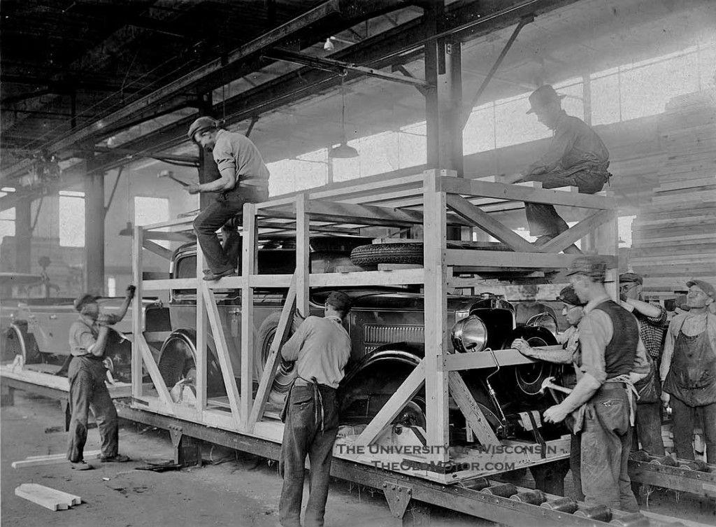 Shipping 1929 Nash