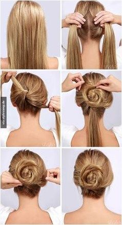 20 Hairstyles For Work Pinterest Singles Twist Hair Style And Trend Frisuren Haarmodel Bun Hairstyles For Long Hair Long Hair Styles Easy Hairstyles